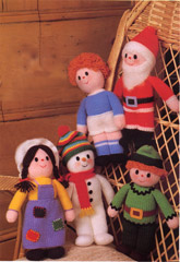 Jean Greenhowe's First Knitted Dolls 1980
