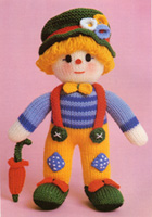 Knitted Clown 1982