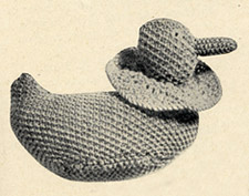 Koster and Murray knitted duck