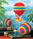 Rainbow Playballs and Balloon