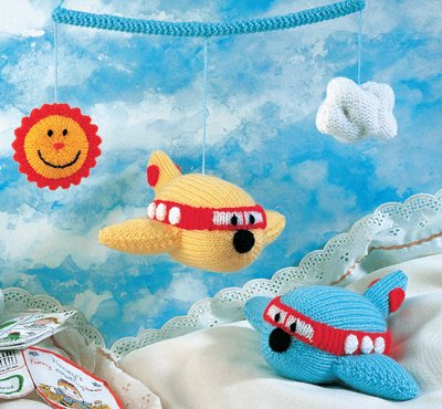 Aeroplane Toy and Mobile