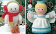 Snowman and Christmas Tree Fairy