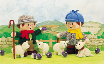 Farmer Woolly, Lord Lancelot and Macintosh