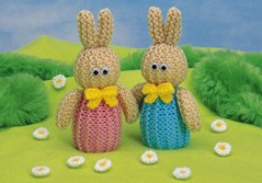 Bunnies - containing chocolate eggs