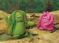 Swamp Thing and The Pink Blob