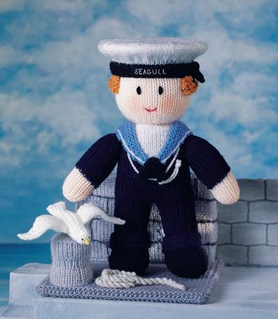 Knitting Pattern For Sailor Doll : MASCOT DOLLS - JEAN GREENHOWE S KNITTING PATTERN BOOKLET
