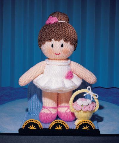 Knitting Pattern Ballerina Doll : MASCOT DOLLS - JEAN GREENHOWE S KNITTING PATTERN BOOKLET