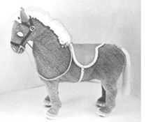 1971 Realistic Horse