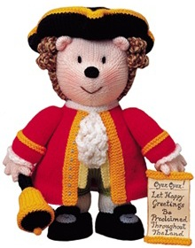 Oyez oyez! Let happy greetings be proclaimed throughout the land