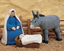 Knitting Pattern Christmas Crib Nativity Scene Booklet : Anything Knitted and Crocheted: Alan Dart Designes