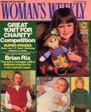 Cuddly clown on the front cover of Woman's Weekly, March 1982