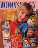 Sam on the front cover of Woman's Weekly, March 1985